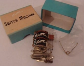 5 Kemtron Switch Machines in Original Boxes with Instructions