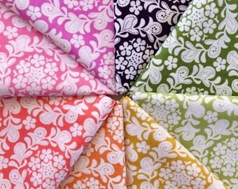 Sandi Henderson Henna Garden Fat Quarter Bundle of 8 Fabrics