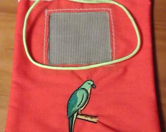 Embroidered Sugar Glider Bonding Pouch -  4 Designs