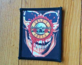 Vintage Guns N Roses Patch