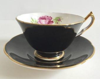 Collingwoods Rose China Tea Cup and Saucer Teacup Set