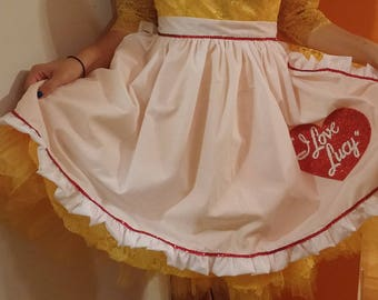 I Love Lucy Apron-Child Size