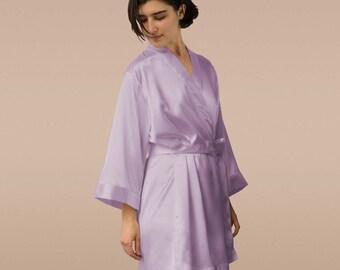 set of 7 robes silk, robes set of 7 bridal robes set of 7, monogram robes set of 7 satin robes for bridesmaids, robes set of 7 kimono