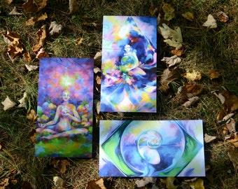 Art Print Bundle ~ Nautilus, Nurturing, and Harmony