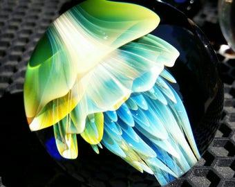 JellyFish Marble by ~Ethan Lesch~  Borosilicate, Boro, Art glass, MIB