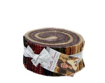 Thistle Farm Jelly Roll by Kansas Troubles Quilters for Moda Fabrics. Jelly Roll 9530JR