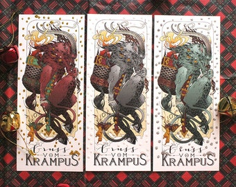 Krampus Christmas Card 2016