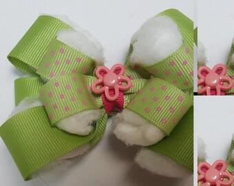 Hair Bow - Flower