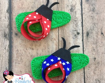Lady bug clip, 4th of july clip