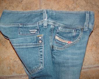 1990's VTG Diesel Capris Pants, Size 2