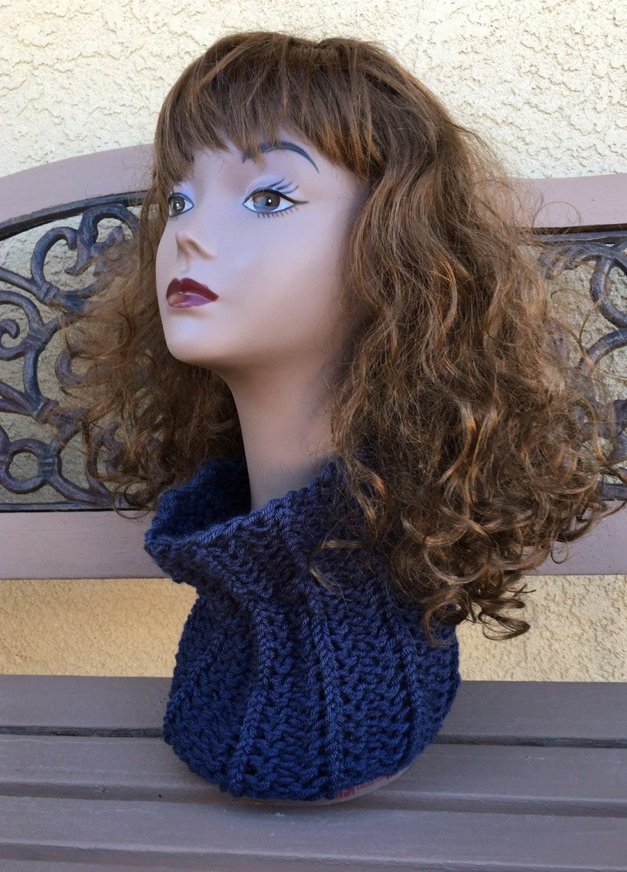 Alpaca Cowl Knitting Pattern : Alpaca Cowl - a loom knit pattern