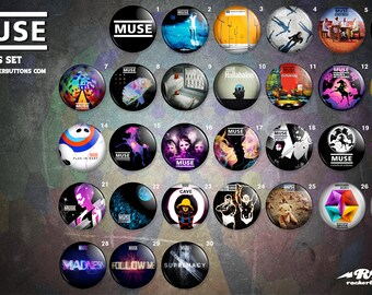 collection sheets Muse / / Muse buttons collection