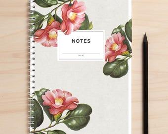 """Notebook """"Notes02 Blüten"""" A5"""