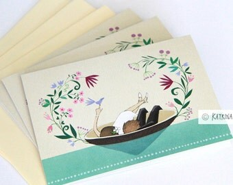 3 x Wedding Card with envelopes