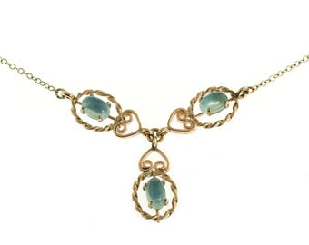 Krementz Moonstone Drop Necklace