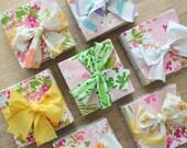 PREORDER 150+ Vintage Sheet 5 x 5 Inch Fabric Squares. No Repeats. Precut Bundle Quilt Top Kit. Vintage Florals Charm Pack. Scraps