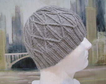 Men's Hat Pattern 'Julius', Men's Knitted Hat Pattern, winter hat, beanie hat