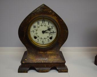 Antique New Haven Shelf Clock- Beautiful!