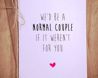 Funny anniversary card, birthday card boyfriend, valentines day card, Greeting Card, birthday card funny, birthday card girlfriend, funny ca