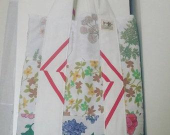 Handmade patchwork purse. Handmade shopper bag