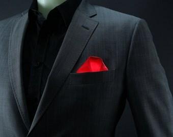 Classic Fold Glowing Pocket Sqaure   Illuminating handkerchief