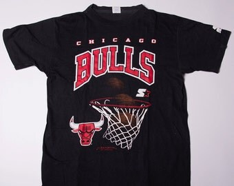 Vintage Chicago Bulls 90s Basketball Tshirt