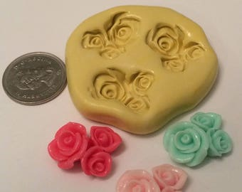 Flower Bunch Silicone Mold Set