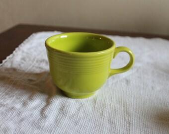 Fiestaware lemongrass tea cup