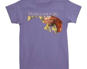 Maryland Girl Horse Women's T-Shirt