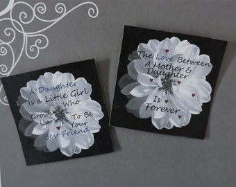 Mother and Daughter Magnets   Fridge Magnet   Daughter Magnets   Gift for Daughter   Gifts for Her   Gift for Daughter from Mom