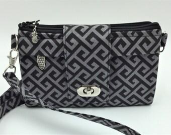 Wallet, Crossbody Wallet, Crossbody Bag, Small Purse, Travel Purse, Clutch Purse, iPhone 6 Plus Wallet - Made in Maui