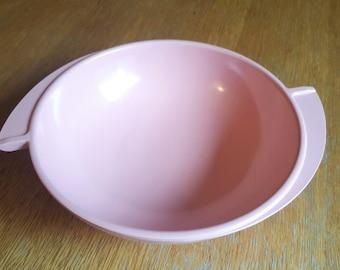 Pink Boonton Melamine Round Serving Bowl