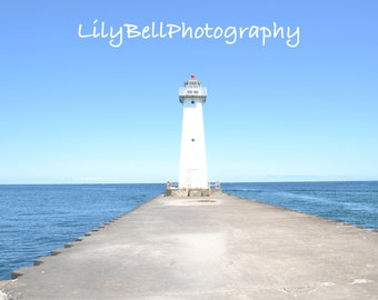 Instant Download Landscape Photography Lake Ontario Lighthouse