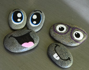 Making Faces 12 piece story stone set