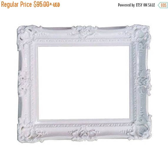 on sale 16x20 wedding white frame baroque style shabby chic decor for art paint pictures in