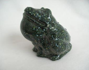 Frog glazed ceramic