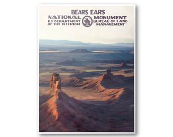 Bears Ears National Monument Travel Poster