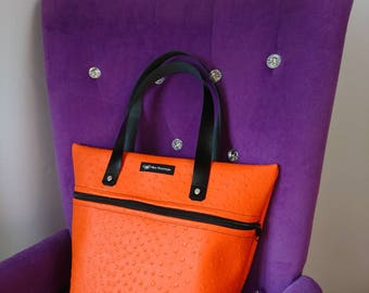 Flott in orange - handbag
