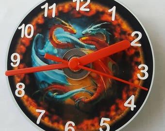 Dragon CD Wall Clock
