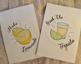 The citrus series - A5 prints