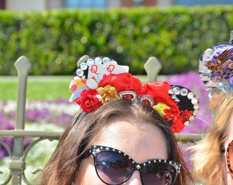 Queen of Hearts Minnie Ears