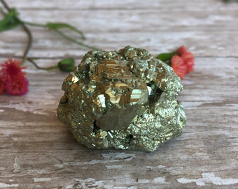 Pyrite Cluster-Iron Pyrite-Rough Pyrite Clusters-Fools Gold-Mineral Specimen