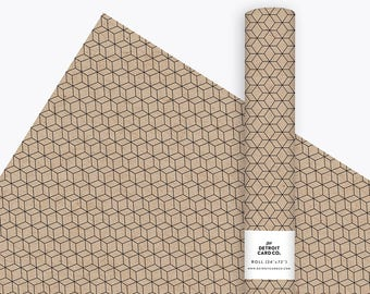 Wrapping Paper - Hive - Profits Donated to Sierra Club