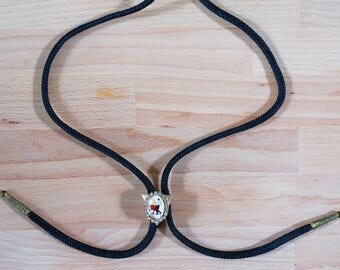 Bolo Tie Vintage with Square Dancing Motif