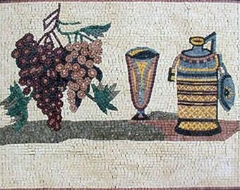 Mosaic Kitchen Backsplash- Amelia