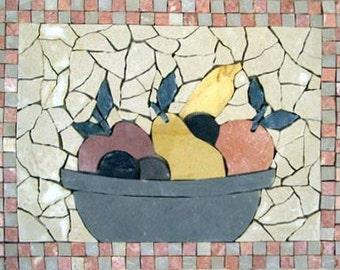 Mosaic Kitchen Backsplash- Raccolto