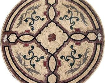 Arabesque Floral Mosaic - Averil
