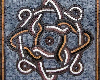 Romanesque Mosaic Square - Gala III