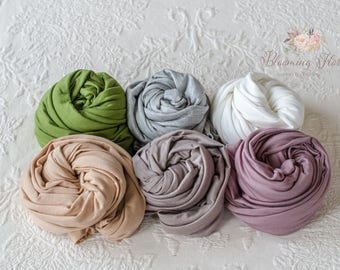Newborn wrap. Newborn Rayon Wraps photography props. Newborn Stretchy Wraps.