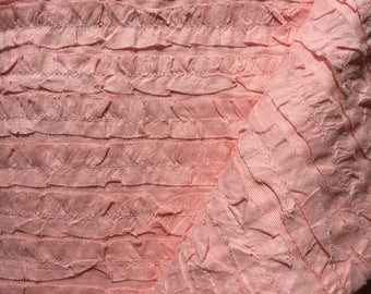 Poetry Ruffles in Blush by Moda Fabrics